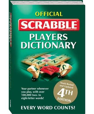 Official Scrabble Players Dictionary (4th ed. 2007)