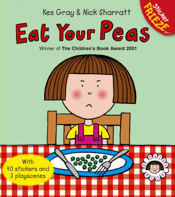 Eat Your Peas (With Sticker Frieze)