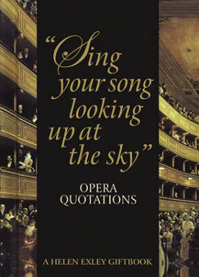 Sing Your Song Looking Up at the Sky