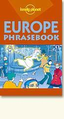LP Europe Phrasebook 3ED - out of print