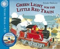 Green Light for the Little Red Train (Book & CD)
