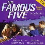 Five on Treasure Island; and Five on a Secret Trail (Famous Five) CD