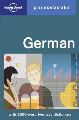 LP German Phrasebook 2ED