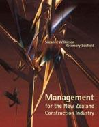 Management for the New Zealand Construction Industry