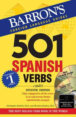 501 Spanish Verbs + CDROM+AUDIO CD PACK : 7E