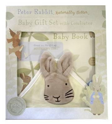 Baby Book and Comforter (Peter Rabbit Naturally Better)