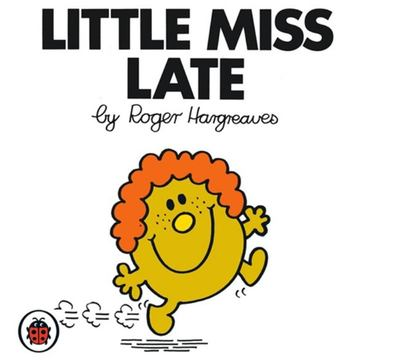 Little Miss Late (Mr Men & Little Miss)