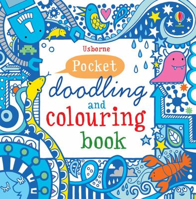 Blue Book (Pocket Doodling and Colouring Book)