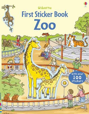 The Zoo (Usborne First Sticker Book)