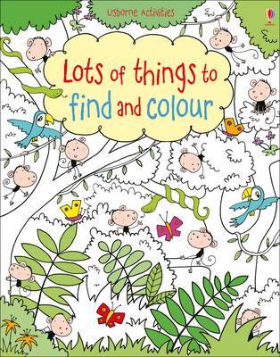 Lots of Things to Find and Colour (Usborne)