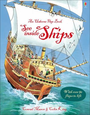 See Inside Ships (Usborne Lift-the-Flap Board Book)