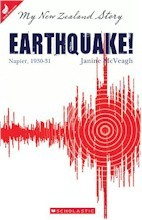 Earthquake! Diary of Katie Bourke, Napier 1930-31 (My New Zealand Story)