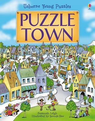 Puzzle Town (Usborne Young Puzzles)