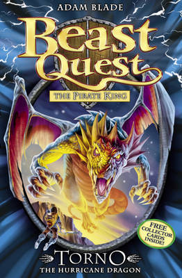 Torno the Hurricane Dragon (Beast Quest: The Pirate King #46)