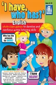 'I have , who has?': English Book A