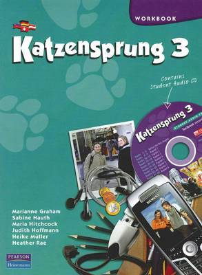 Katzensprung 3 Workbook & Student CD Pack