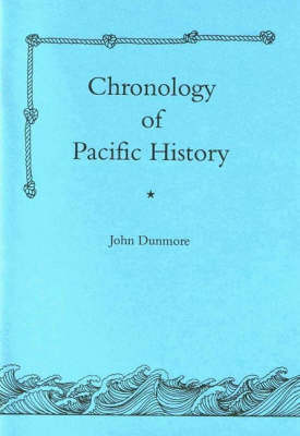 Chronology of Pacific History