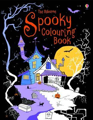 Spooky Colouring Book