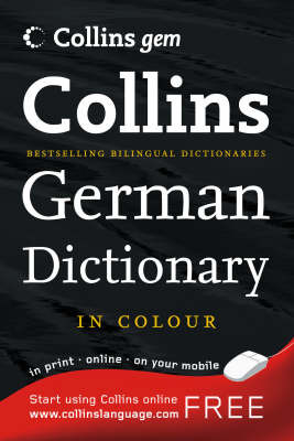 Collins Gem German Dictionary - out of print