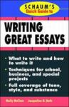 Schaum's Quick Guide to Essay Writing