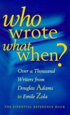 Who Wrote What When?