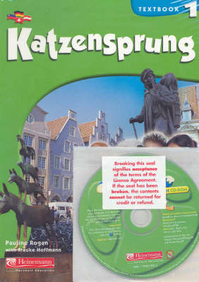 Katzensprung 1 text + CD Rom pack