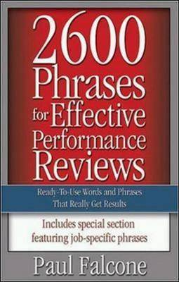 2600 Phrases For Effective Performance Reviews