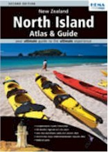 DNO New Zealand North Island Atlas & Guide