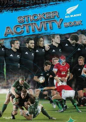 All Blacks Sticker Activity Book