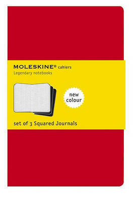 Squared Cahier Extra Large Red