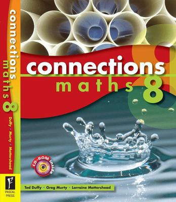 Connections Maths 8: Book and CD-Rom
