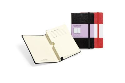 Classic Memo Pockets Black Pocket Notebook