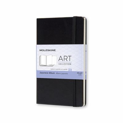 Notebook Japanese Album Pocket Black Classic Moleskine