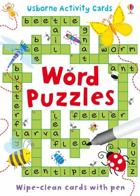 Word Puzzles (Usborne Activity Cards)