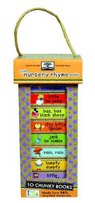 Little Nursery Rhymes (Green Start Book Towers: 10 Chunky Books Made from 98% Recycled Materials)
