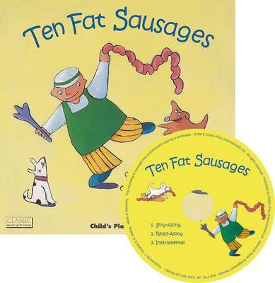 Ten Fat Sausages (Book & CD)