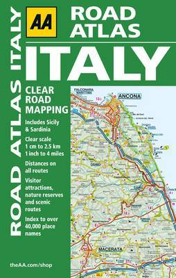 AA Road Atlas Italy 5th ed.