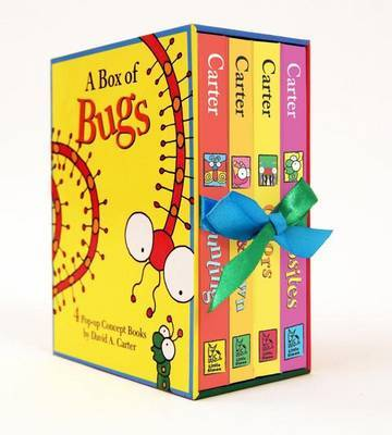 A Box of Bugs: (Boxed set of 4 Pop-Up Concept Books)