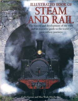 Large illus book steam rail