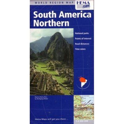 South America - Northern Map