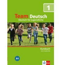 Team Deutsch 2: Kursbuch mit 2 Audio-CDs (A1)