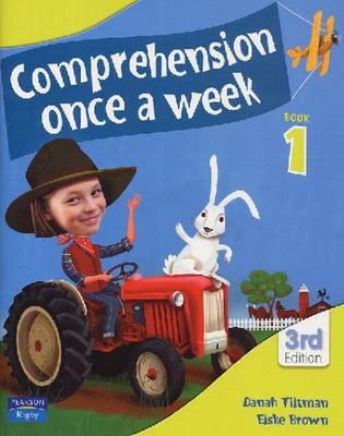 Comprehension Once A Week Book 1 (NZ Year 2) - 3rd Edition