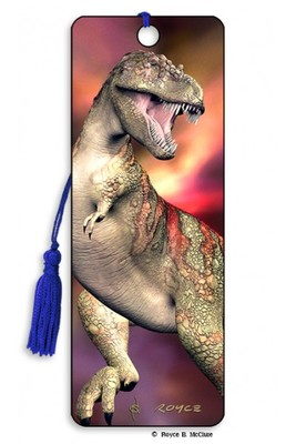 T-Rex 3D Bookmark