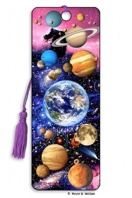 You Are Here Space 3D Bookmark