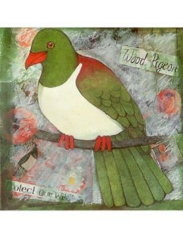 Woodpigeon Card