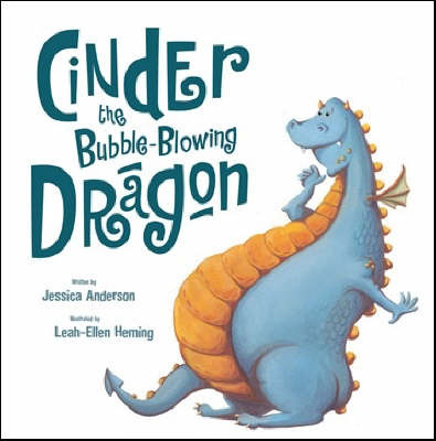 Cinder The Bubble-Blowing Dragon