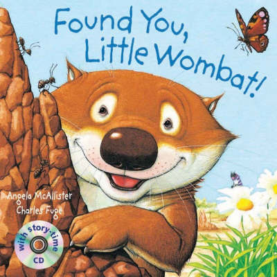 Found You Little Wombat Bk with CD