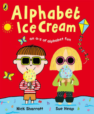 Alphabet Ice Cream - A to Z of Alph