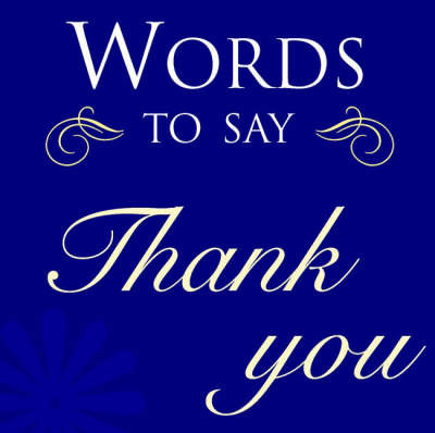 Words to Say Thank You