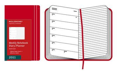 2011 Diary Pocket WTO w/Notes Red